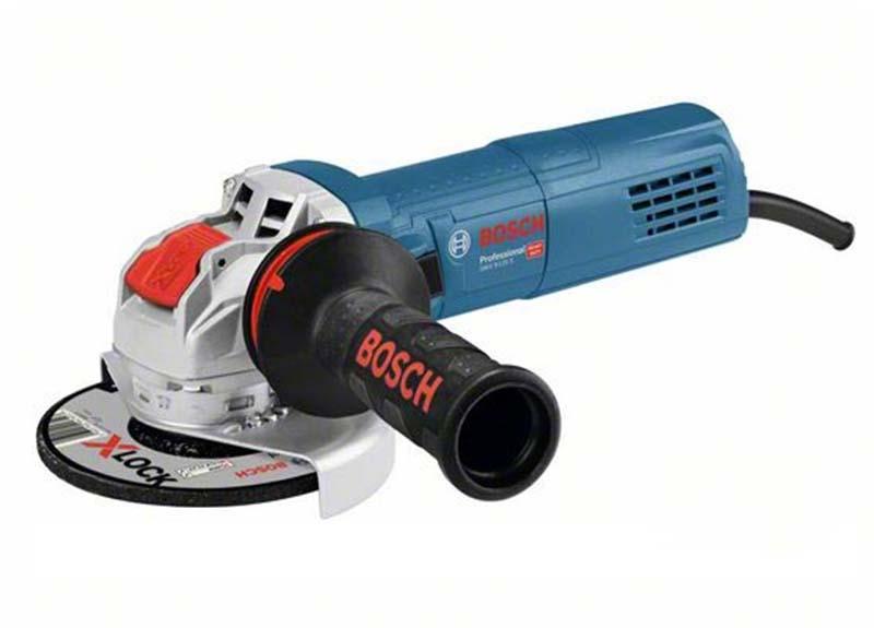 Угловая шлифмашина Bosch GWX 9-125 S с X-LOCK