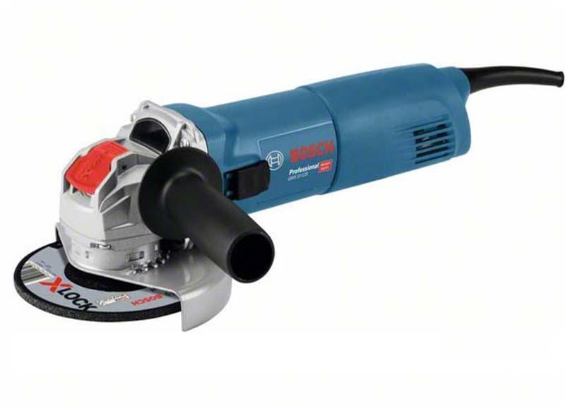 Угловая шлифмашина Bosch GWX 10-125 с X-LOCK