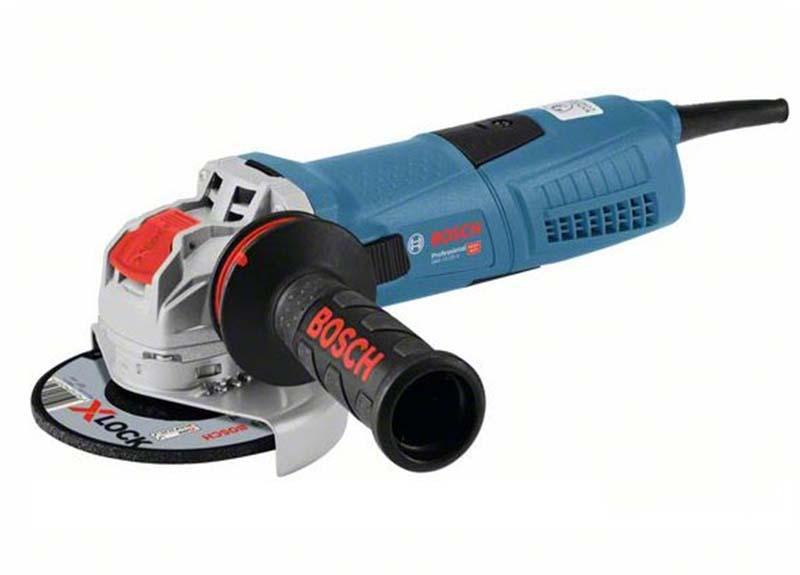 Угловая шлифмашина Bosch GWX 13-125 S с X-LOCK