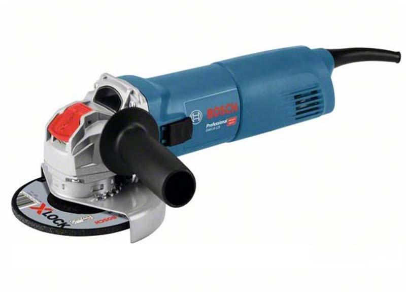 Угловая шлифмашина Bosch GWX 14-125 с X-LOCK