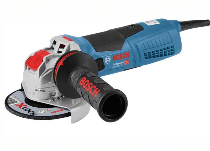 Угловая шлифмашина Bosch GWX 17-125 S с X-LOCK