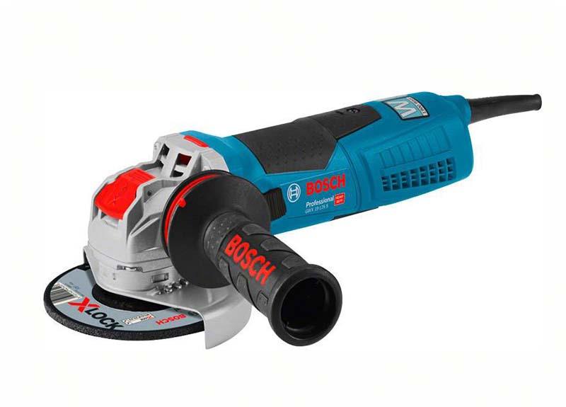 Угловая шлифмашина Bosch GWX 19-125 S с X-LOCK